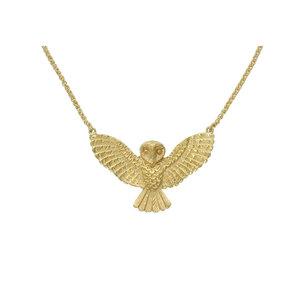 Medium claudia schiffer 2016 zoe and morgan owl necklace