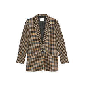 Medium sandro lodger houndstooth blazer