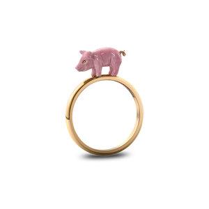 Medium claudia schiffer 2016 solange pig ring