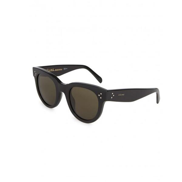 551a8c19b476 CÉLINE - Audrey black wayfarer-style sunglasses - Semaine