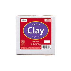 Medium amaco white 10 lb. air dry clay