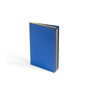 Medium hay hay edge notebook royal blue
