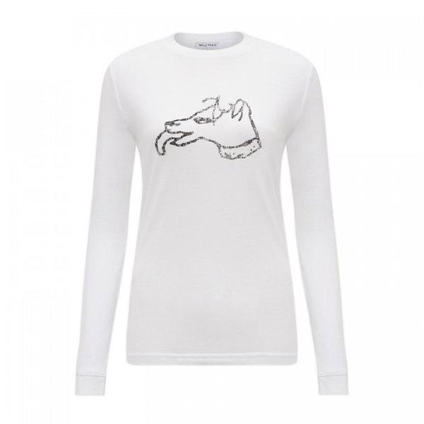 Large bella freud dpg tshirt long sleeved