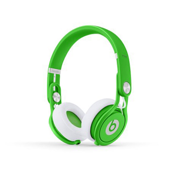 Beats Neon Green Beats Mixr On Ear Headphone Semaine