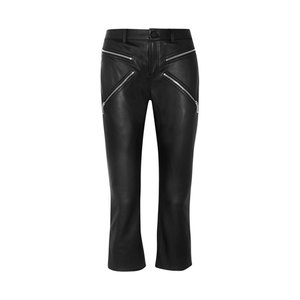 Medium alexander wang cropped leather skinny pants