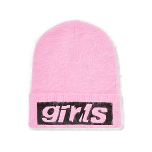 Medium alexander wang embroidered angora blend beanie