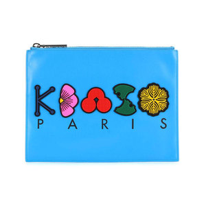 Medium kenzo leather pouch my theresa