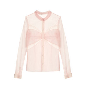 Medium mary katrantzou fosse tulle blouse