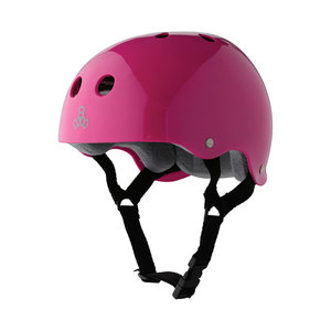 Medium triple 8 triple eight glossy multi impact skate hardhat with sweatsaver liner copy