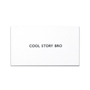 Medium cool story bro