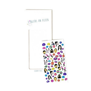 Medium celeb nail stickers