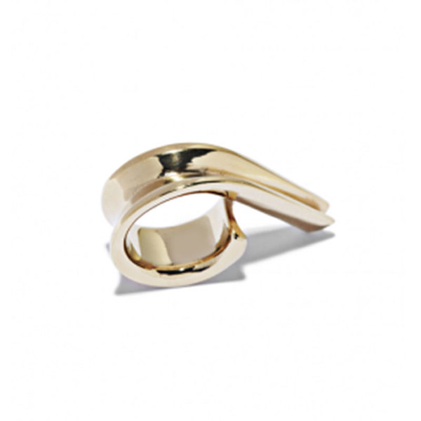 Large annelise michelson ellipse ring.