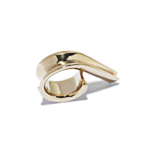 Medium annelise michelson ellipse ring.
