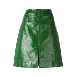 Medium courreges front slit skirt