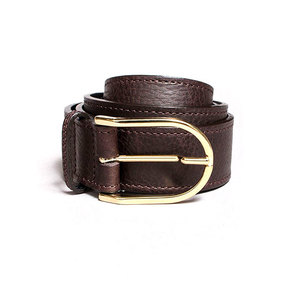 Medium maison standards classic belt brown