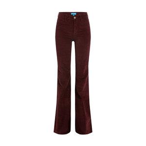 Medium mih jeans flared velvet pant stylebop