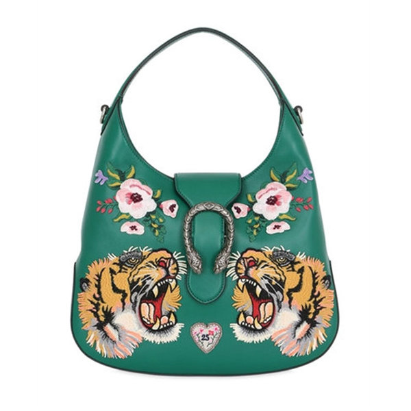 06243295b28b Gucci - Small dionysus hobo embroidered leather - Semaine
