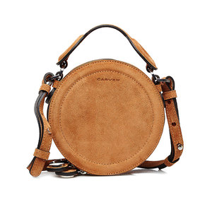 Medium stylebop carven suede sholder bag
