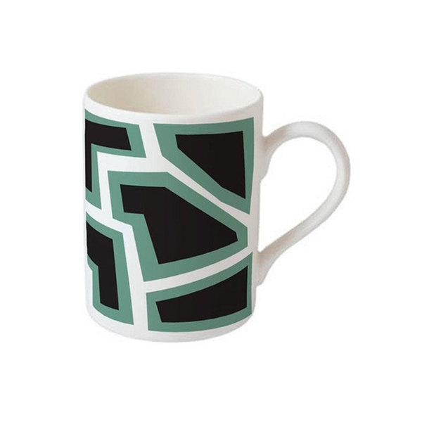 Large bone china mug x nathalie du pasquier