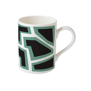 Medium bone china mug x nathalie du pasquier