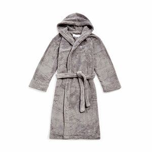 Medium sohohome house fluffy bath robe grey
