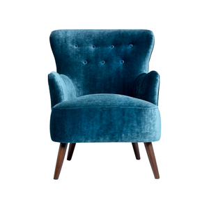 Medium betsy armchair  navy velvet