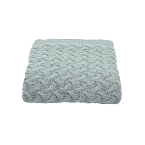 Medium dundas throw  pebble