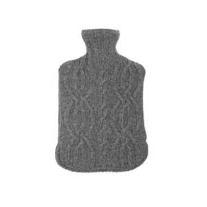 Medium harrison hot water bottle  grey marle