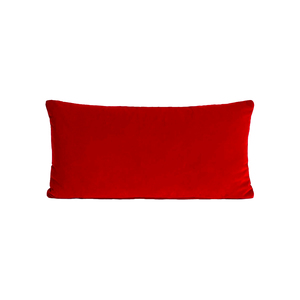 Medium monroe oblong cushion  red