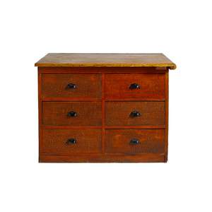 Medium timber drawer unit