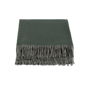 Medium sohohome portobello cashmere throw olive