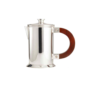 Medium soho home audley silver coffee press  small