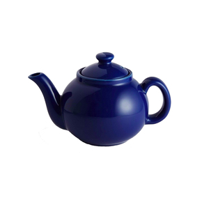 Medium soho home kitchen tiny teapot  blue