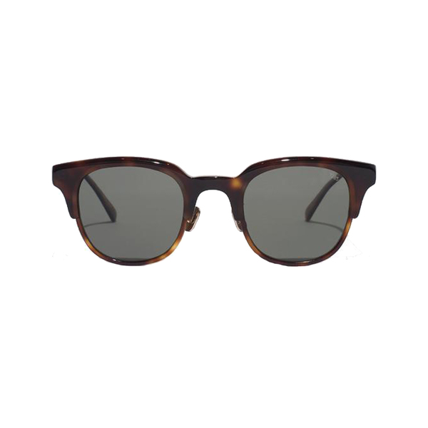 Large man of the world eyevan 7285 acetate clubmaster sunglasses tobacco alt1 grande