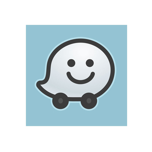 Medium waze app logo