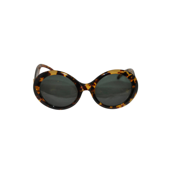 9fbe53a4f2a Gucci - Large round tortoise shell sunglasses - Semaine