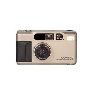Medium contax t2 silver 35mm camera 1