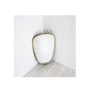 Medium ceraudo 1950 brass mirror