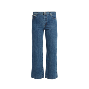Medium matches sailor high rise cropped jeans apc