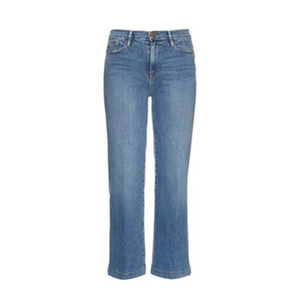 Medium matches fashion frame le capri crop cropped jeans copy