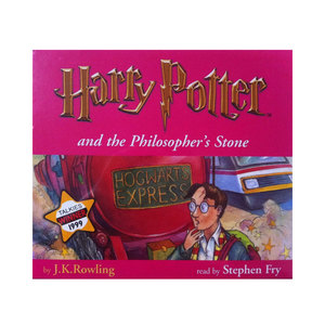 Medium harry potter and the philosopher s stone  7 audio cd set    narrated by stephen fry