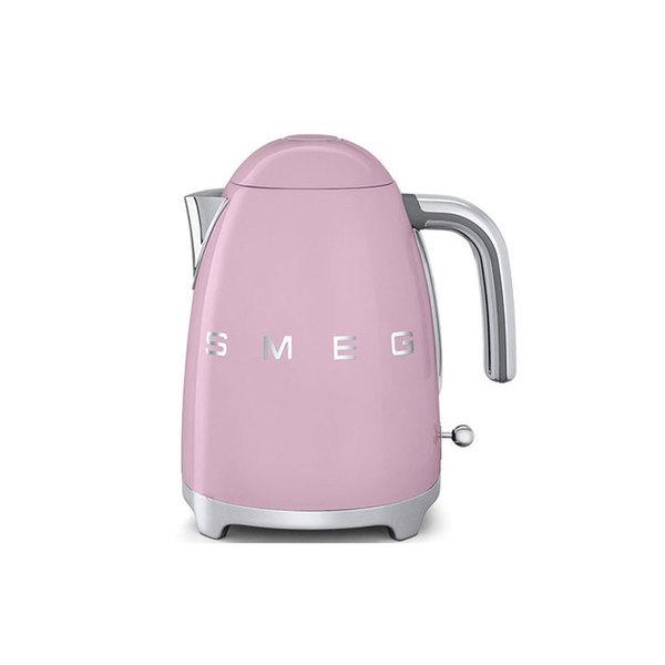 Large large klf11pkuk50 s retro style aesthetic   smeg baby pink kettle