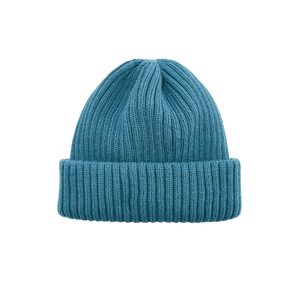 Medium urban outfitters teal ribbed beanie