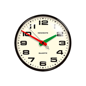 Medium newgate brixton clock   black amara
