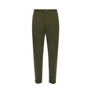 Medium paul smith pleated front cotton trousers