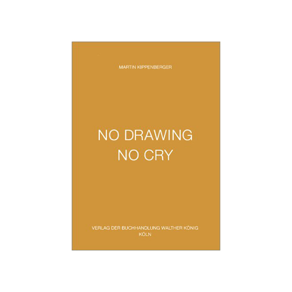Large martin kippenberger no drawing no cry