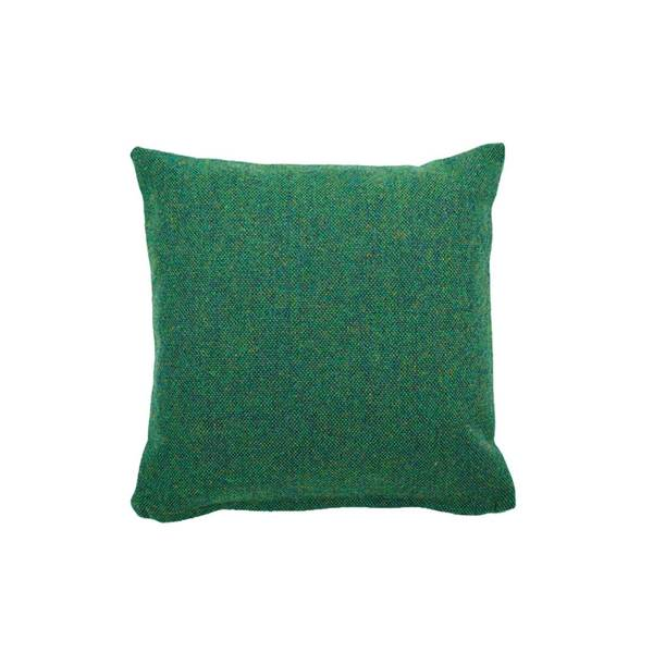 Large clippings tweed twin tone cushion forest green acid pea green lane lane clippings 1656101