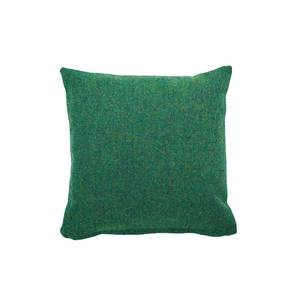Medium clippings tweed twin tone cushion forest green acid pea green lane lane clippings 1656101