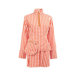 Medium  red check shirt dress   marques   almeida