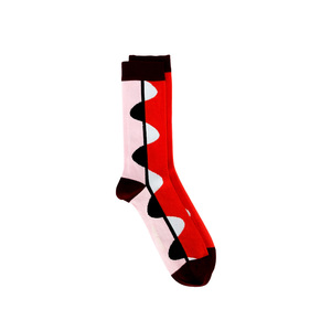 Medium henry vibskov half moon sock